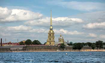 Peter and Paul Fortress in St/ Petersburg
